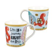 Bramble & Rocket Enjoy The Ride Mug